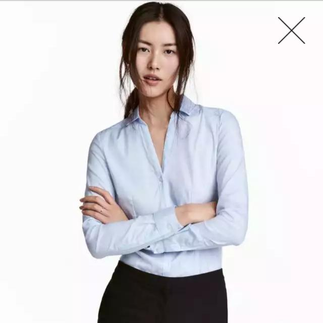 H&M Fitted shirt
