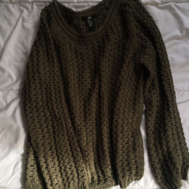 H&M KNITTED JUMPER TOP