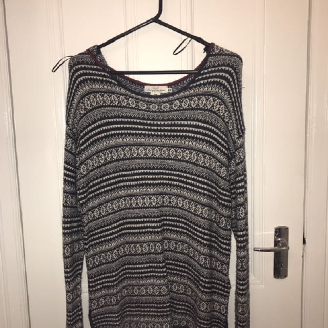 H&M Sweater Top Size M