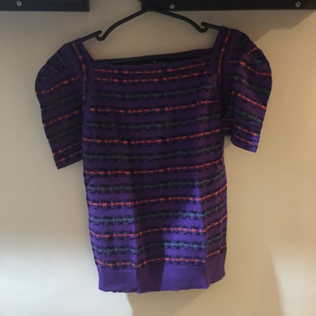 Kamiseta Knitted Boxy Top