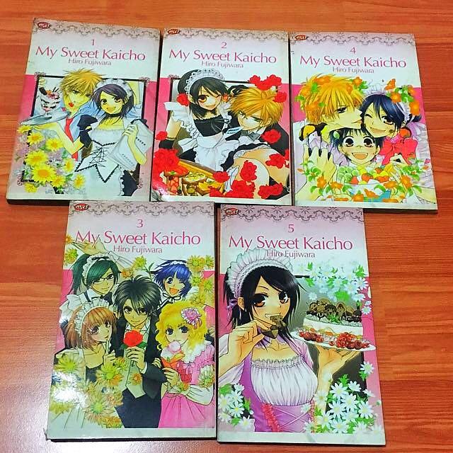 Komik My Sweet Kaicho Vol 1-5
