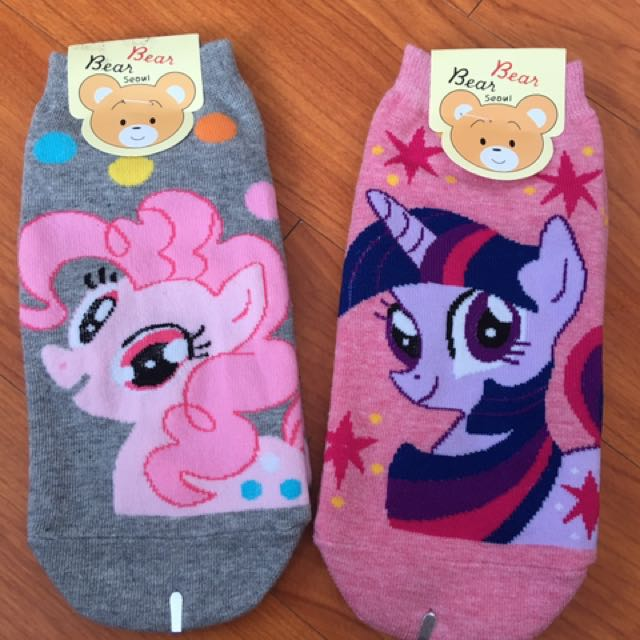 Korean socks (2 pieces) My Little Pony