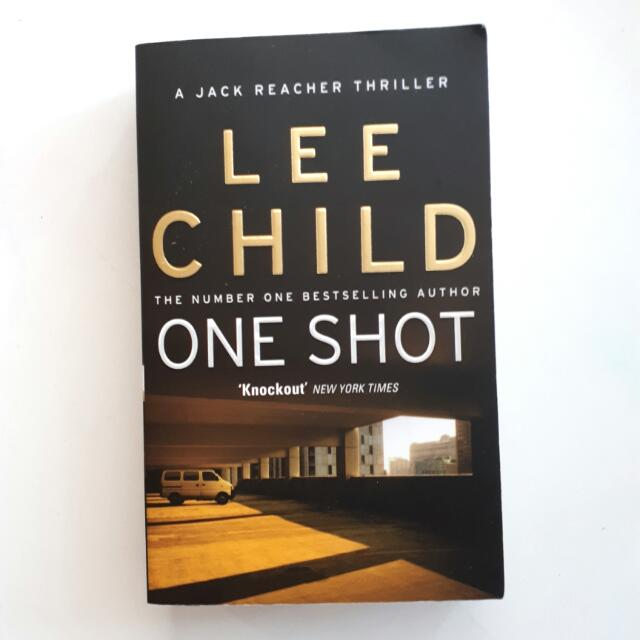 Lee Child One Shot Jack Reacher series