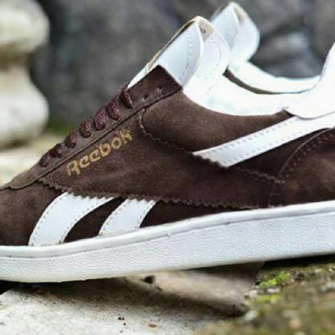 Limited Edition Sepatu Casual Pria Kuliah Santai Reebok Swede Mercy ... 041dc789c1