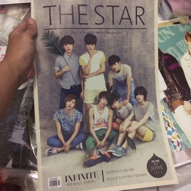 Majalah The Star - Infinite