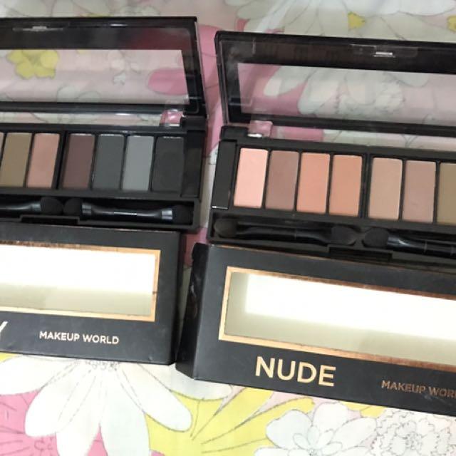 Makeup World Eyeshadow (Nude & Smoky)