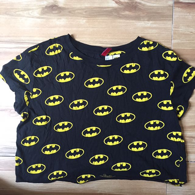 💕(H&M) Orig! 🦇man Crop Top