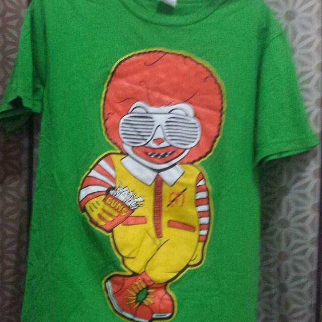 mcdonalds shirt