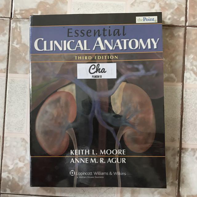 Medical Books: Ganong Moore, Textbooks on Carousell