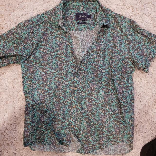 Mens Shirt Short Sleeve