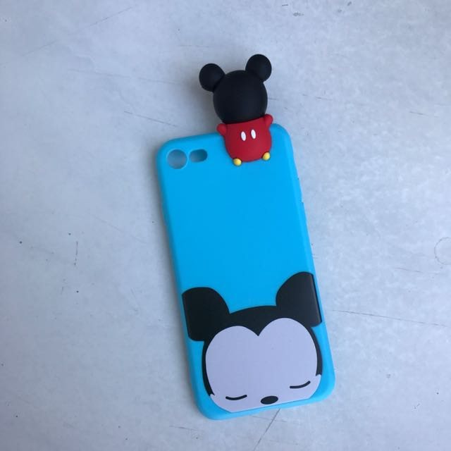 Mickey Head Jelly Case For I7