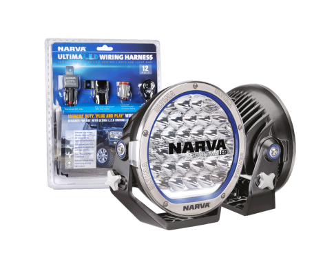 NARVA PAIR 9INCH LED DRIVING LIGHTS 71740 ULTIMA L.E.D WIRING ... on ultima harness 18 530, ultima motor wiring diagram, ultima electronic wiring system,