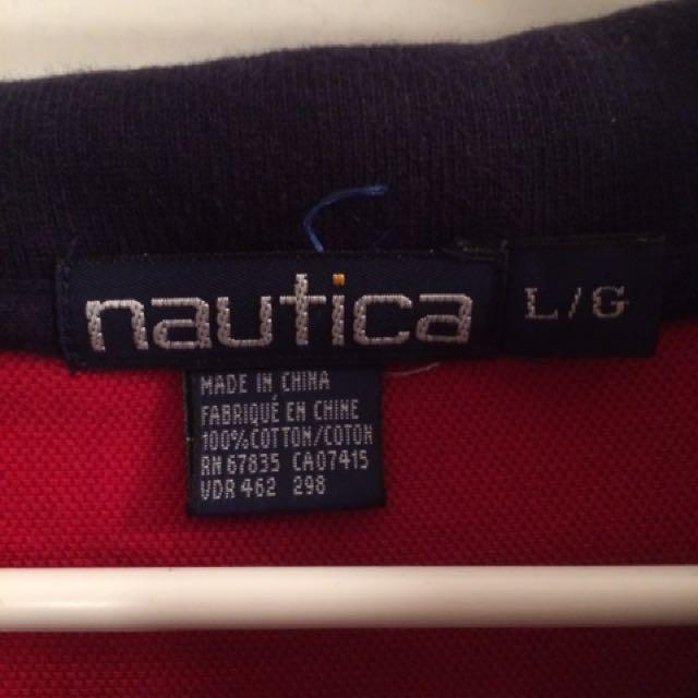 Nautica Polo Striped