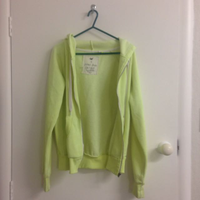 Neon Yellow Baggy Jacket