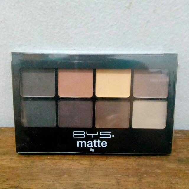 New BYS Matte Eyeshadow Palette (nudes)