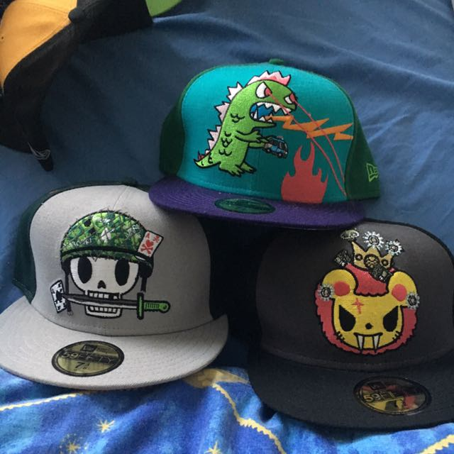 New Era Tokidoki Fitted Caps