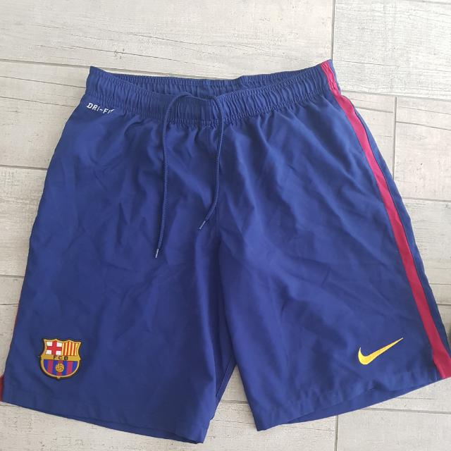 Nike  FCB team Shorts  100% Authentic  Purchased  In Nike Store Barcelona