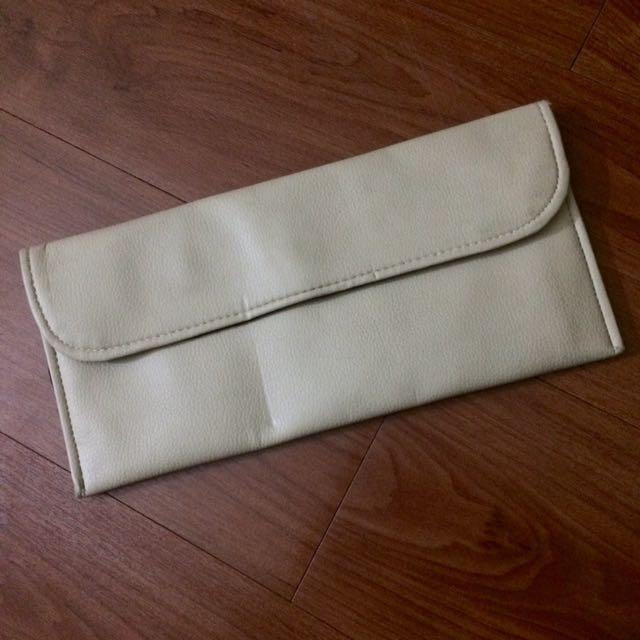 Nude Clutch Bag