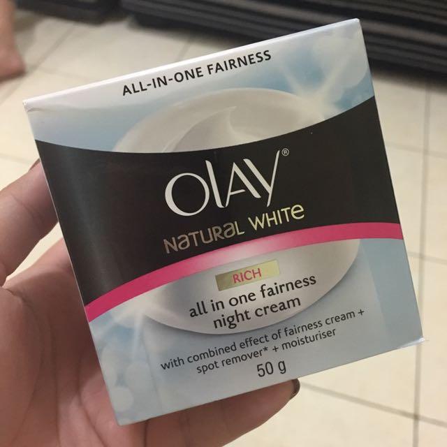 OLAY NATURAL WHITE - NIGHT CREAM