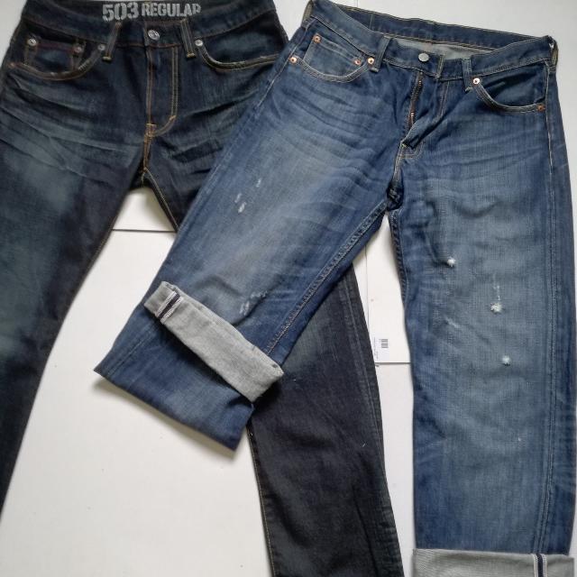 Original Edwin 503 Made In Japan Levis 503 Selvedge Jeans Men S