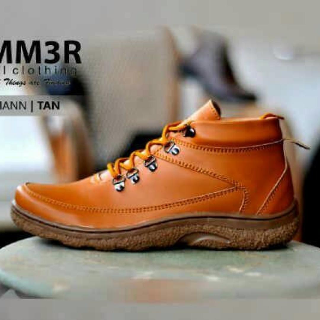 Original Sepatu Boot Pria Casual Original Hummer Kualitas Top Brand ... 2512c55644