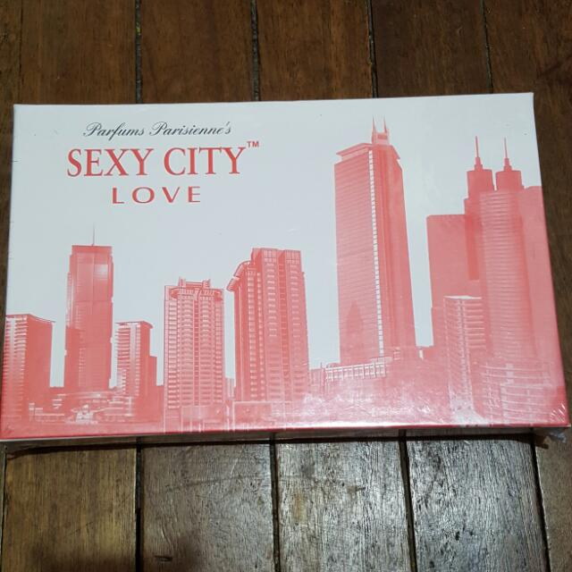 Parfums Parisienne's Sexy City Love Set