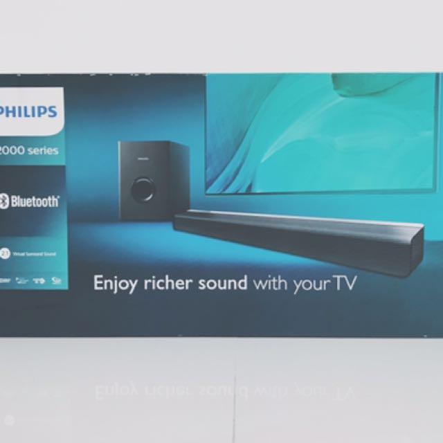 Philips Soundbar Speaker CSS2133B/98, Home Appliances, TVs ...
