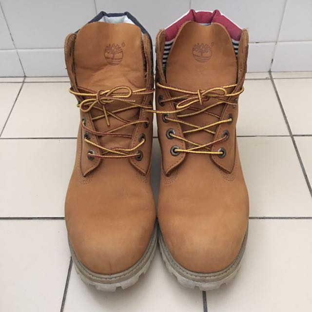 65ad3fe8379e6 Preloved] Timberland Boots, Men's Fashion, Footwear on Carousell