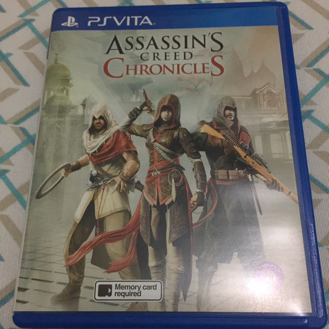 Ps Vita Assassin S Creed Chronicles Video Gaming Video Games On