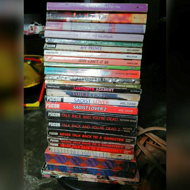Psicom And Summit Fiction Books