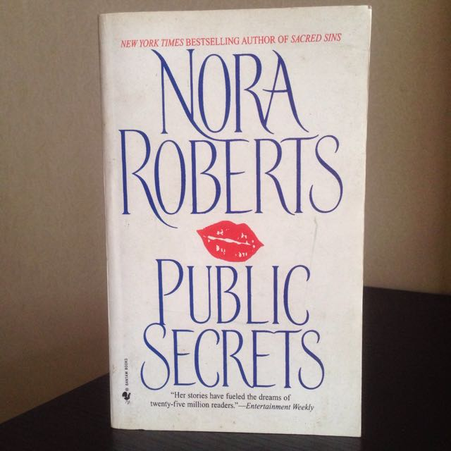 Public Secrets By Nora Roberts (paperback)