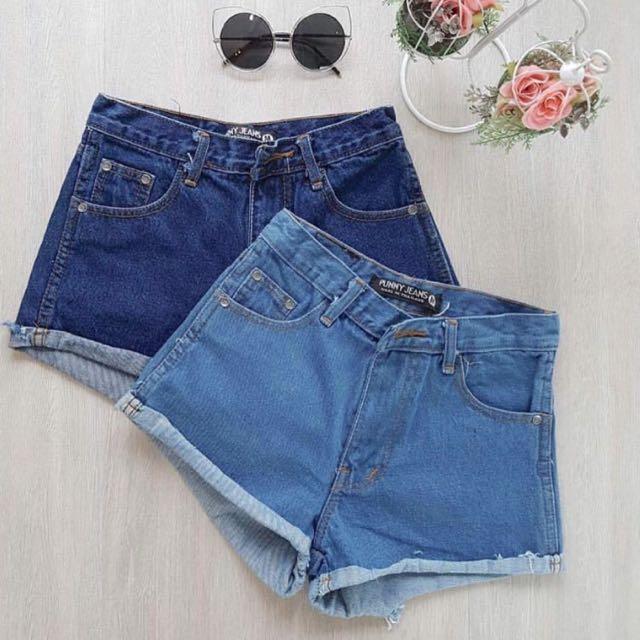 Puffed Highwaist Shorts