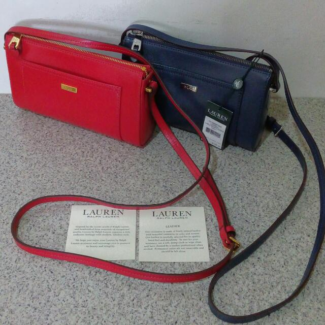 c72a1cc9486c Ralph Lauren Lowell Crossbody on Carousell