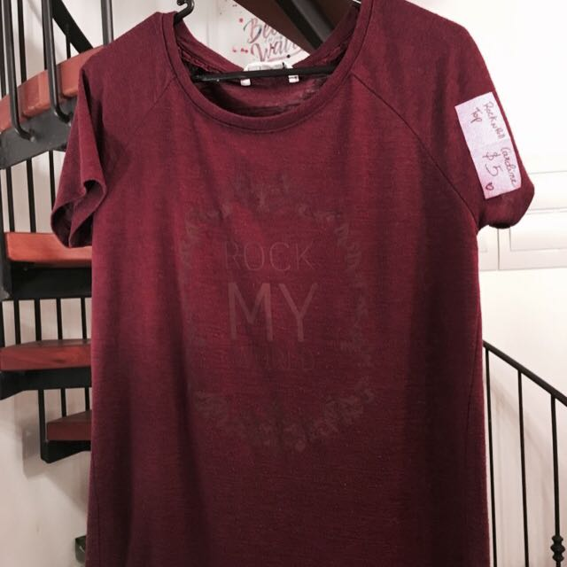 Red Top - Size 10