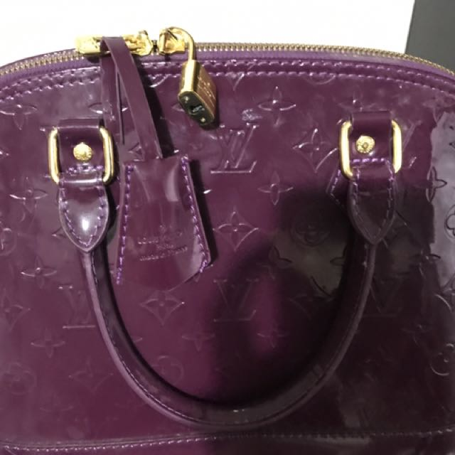 Replica Louis Vuitton Nice Purple Bag