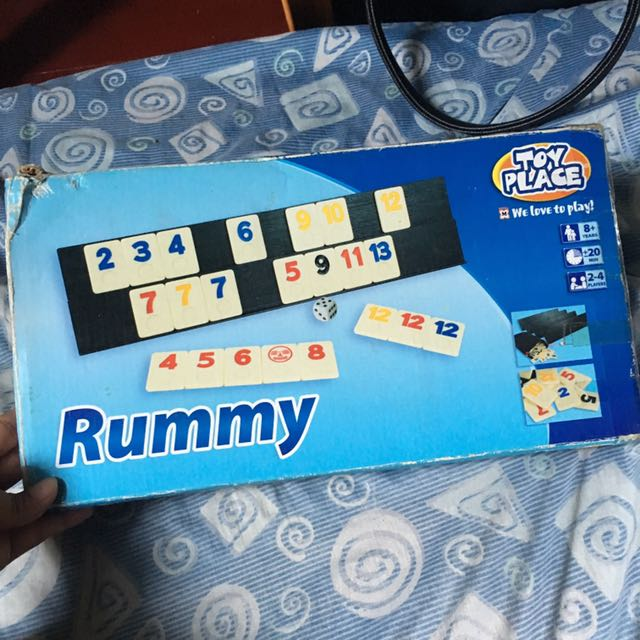 Rummy Board Game