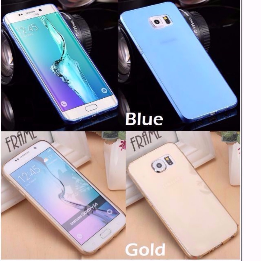 Samsung Galaxy S8 / S8 Plus S8+ Crystal Clear Transparent TPU Case Casing Cover, Mobiles