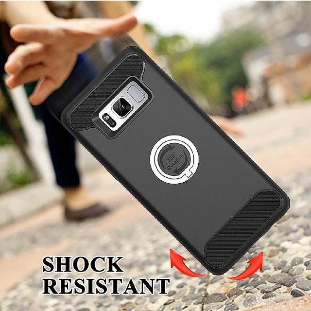 Samsung S8 Hard Protective Case With Ring