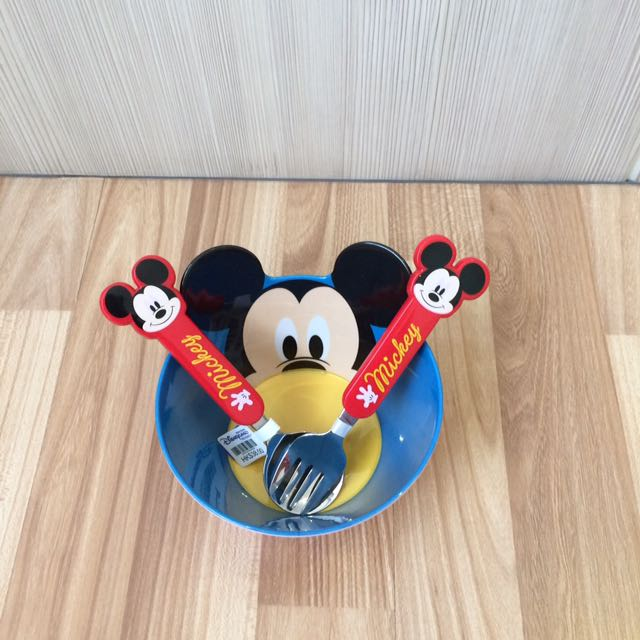 Set Bowl Mickey Mouse