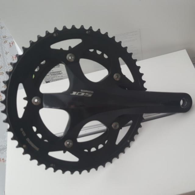 Shimano 105 5700 Crankset Bicycles Pmds Bicycles On Carousell