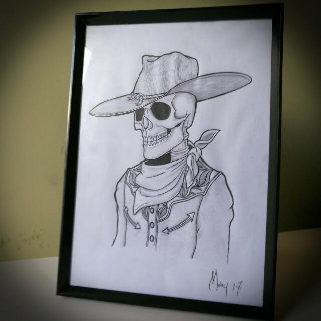 Skeleton Sketches.
