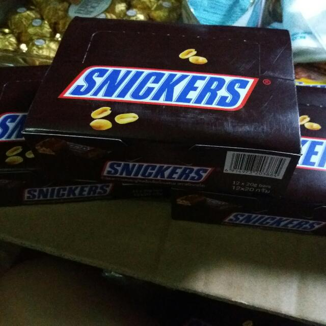 OUT OF STOCK! Snickers