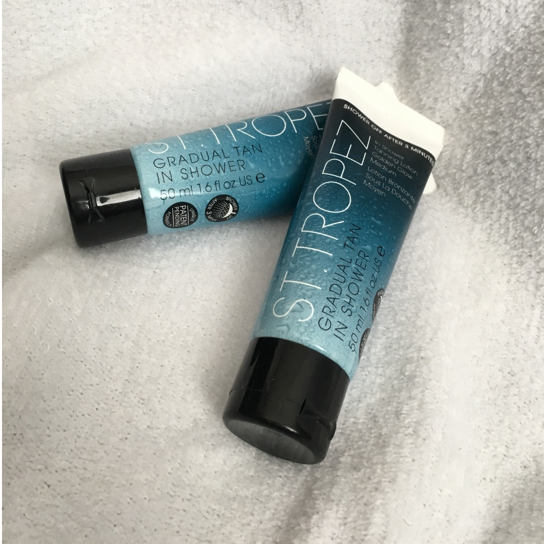 ST. TROPEZ LARGE TRAVEL SIZE IN SHOWER TANNING LOTION