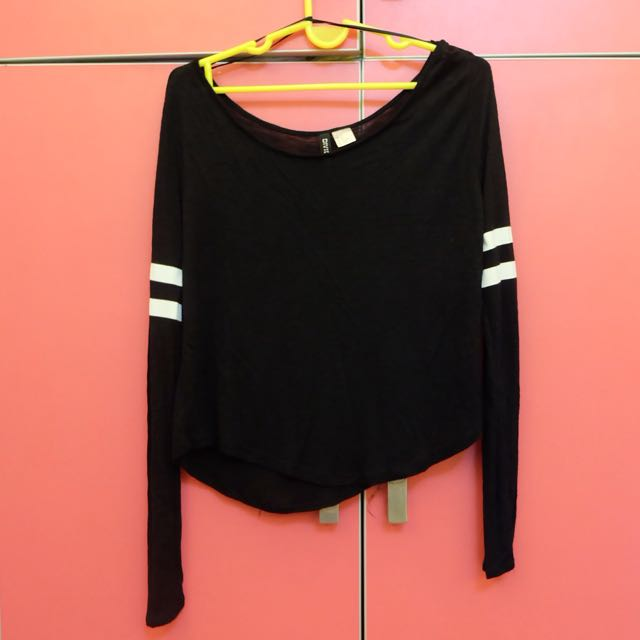 Striped Sleeve Pull-over