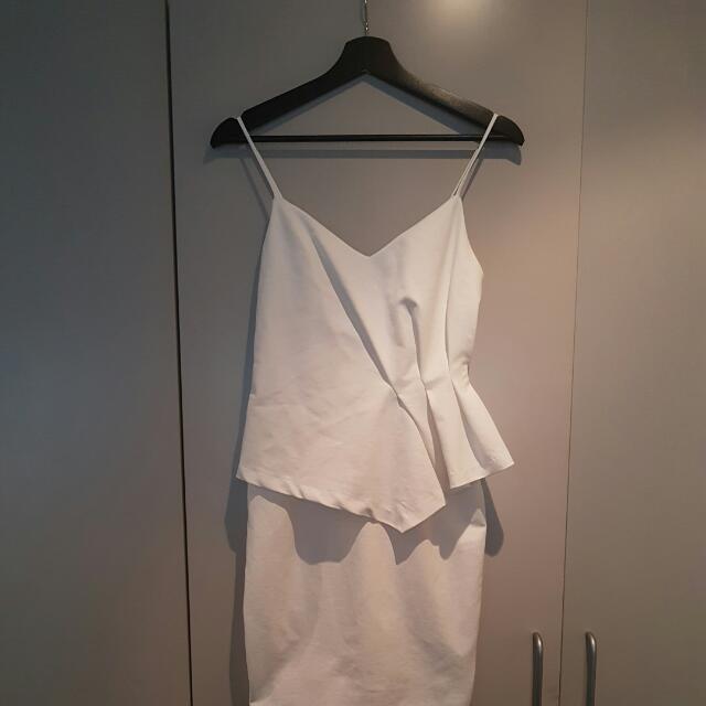 Tallulah White Dress - Formal/Occasion