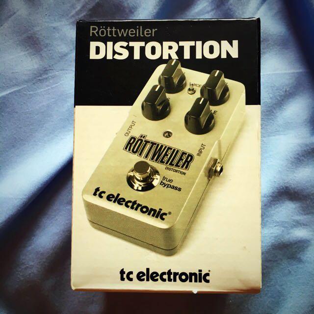 TC Electronics Rottweiler High Gain Distortion Pedal
