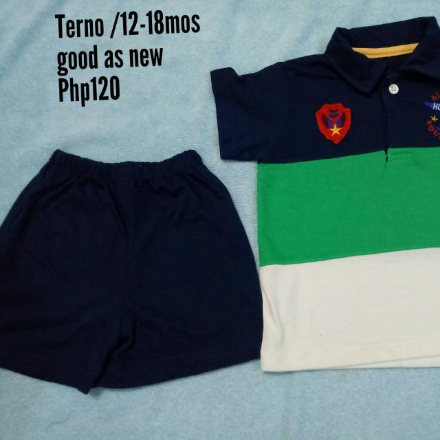 Terno (Polo & Short)👕👖