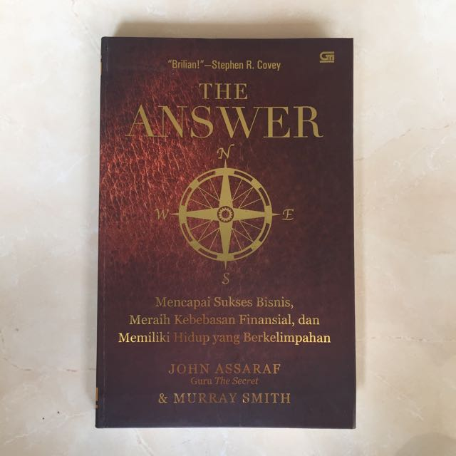 The Answer oleh John Assaraf (The Secret)