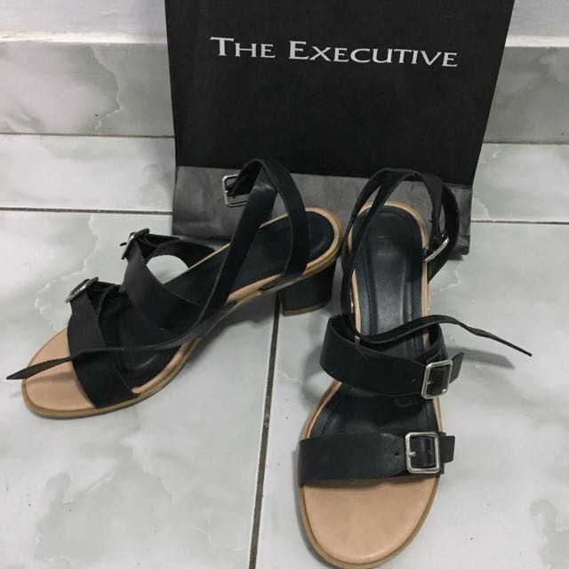 The Executive Black Shoes