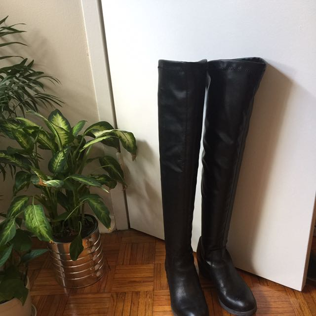 Thigh High Boots (Size 7.5)